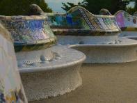 Gaudi - Parc Guell mosaic