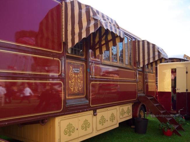 Mrs Anna Carter's caravan