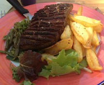 Duck breast et frites