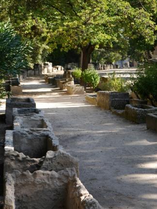 Roman/medieval burial site