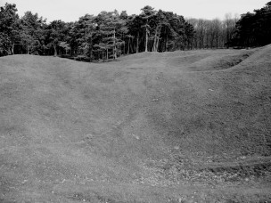 Craters at Vimy ridge