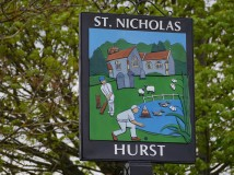 New village sign