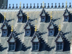 Town hall, detail