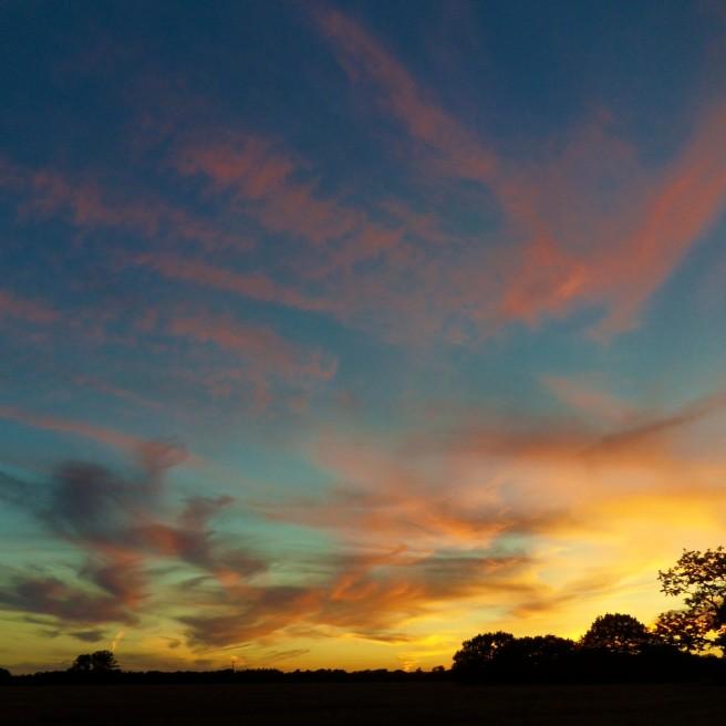 Sunset squared