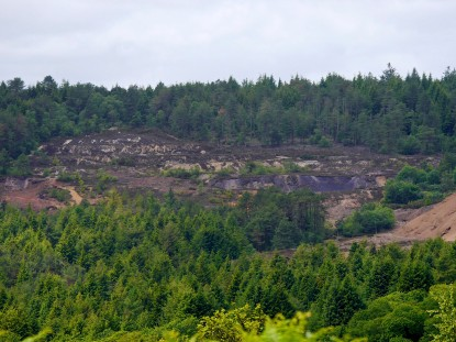 Tamar trail - arsenic spoil heaps