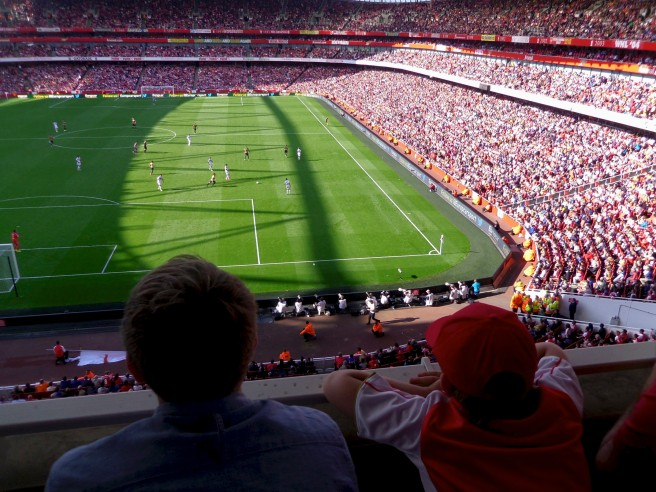 His first Arsenal match