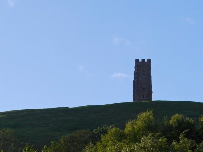 Evening at Glastonbury Tor