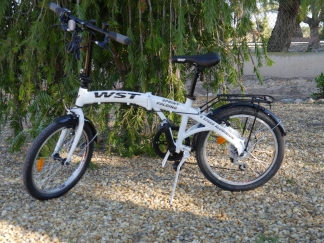 It's a bike!