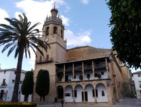The town square, Ronda