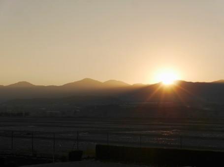 Sunrise at Casa R&J
