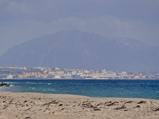 Tarifa and African coastline