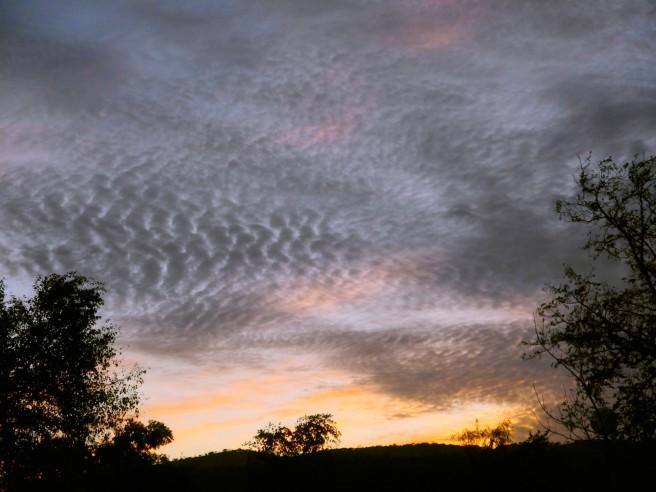 Sky ripples