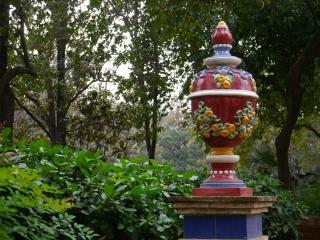 Urn, Maria Louisa park