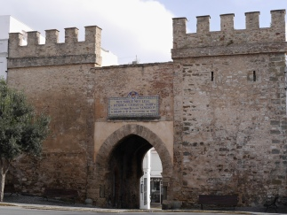 Tarifa old town gate