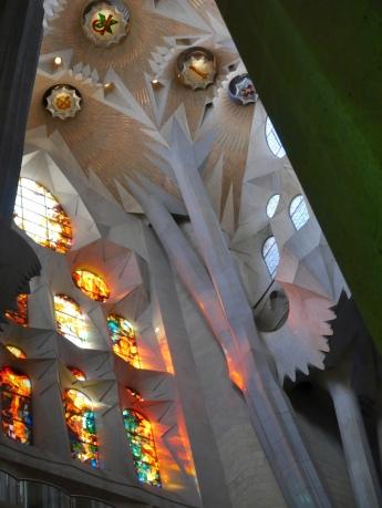 Above the passion facade entrance