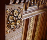 Panelling (detail)