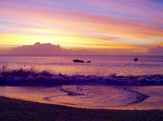 St Lucian sunset