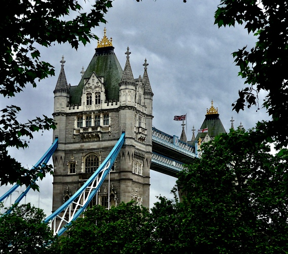 Tower Bridge from the Tower – Version 2