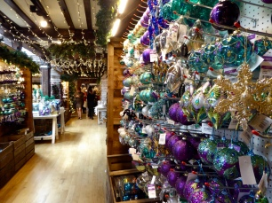 Purple and blue Christmas