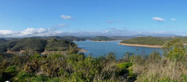 Bravura reservoir panorama