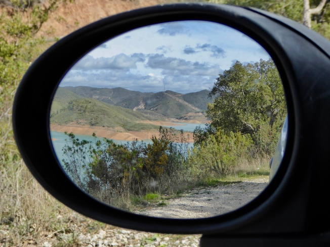 Reservoir view mirrored